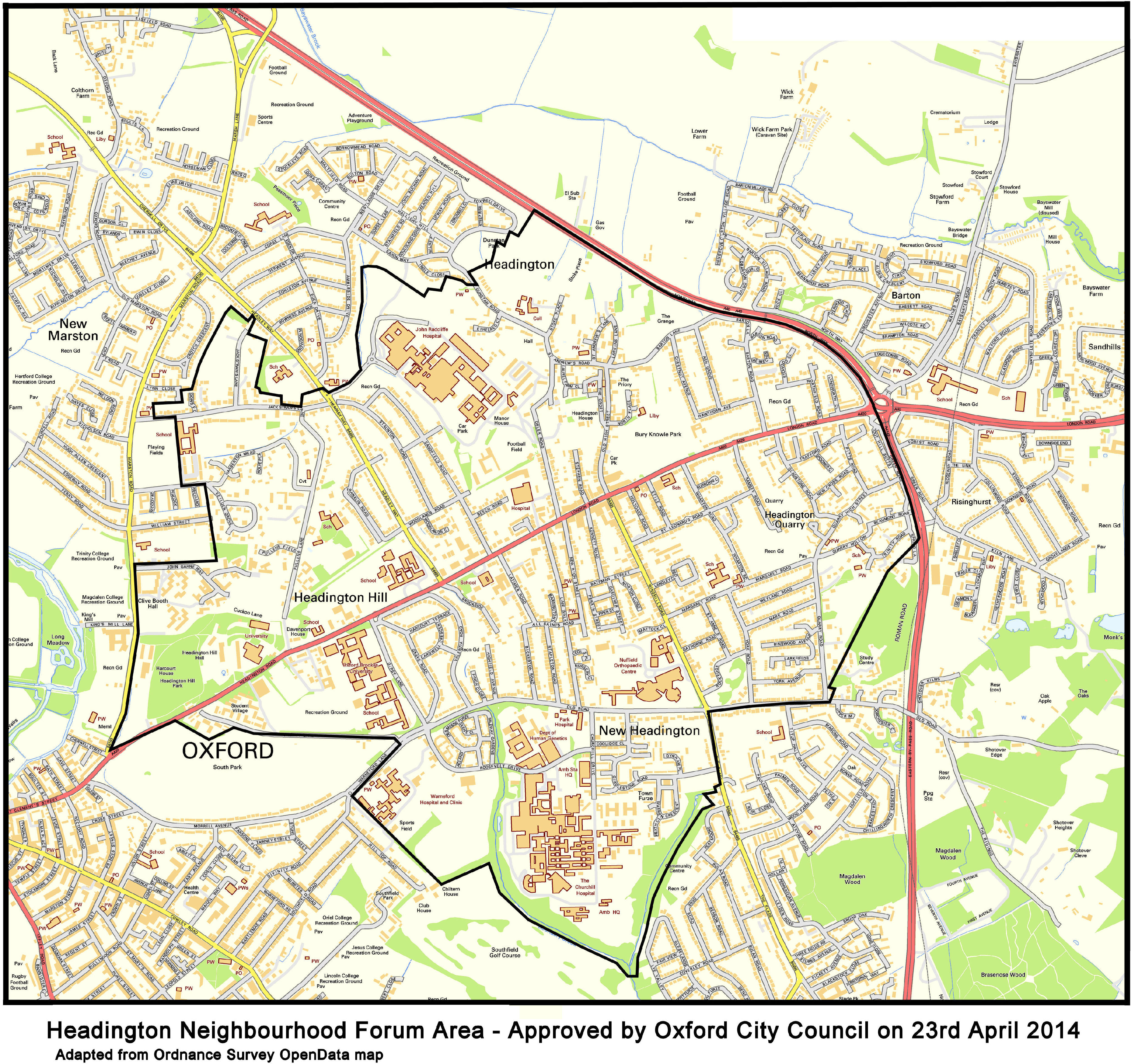 Map headington neighbourhood forum to download in some browsers the pdf file will be displayed and you will need to right click on the viewed map and select the save as option gumiabroncs Images