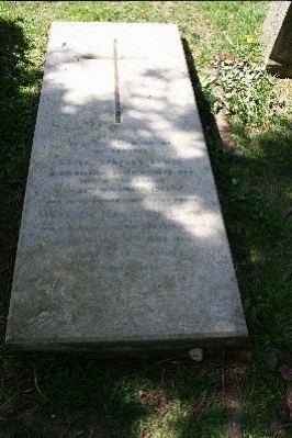 CS Lewis's Grave