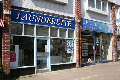 Shop-Launderette