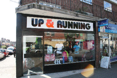Shop-Up and Running