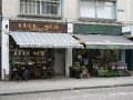 Cafe and Flowers